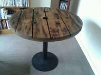 Industrial Bistro / Café Style Table