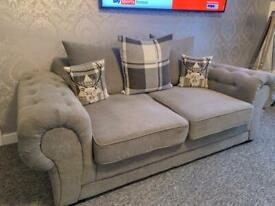 Large grey 2 seater in great condition £300