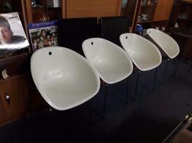 4 x retro chairs