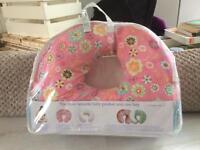 Boppy Feeding & Nursing Pillow with Cotton Slip Cover