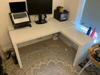 Desk - IKEA Malm (with pull out)