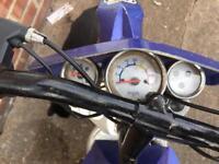 Dr50 50cc dirt bike (FRONT FORKS BENT)