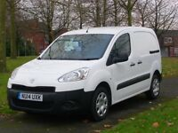 2014 14 Reg Peugeot Partner 850s L1 Hdi (35,000 Miles) Finance Available (Fsh) AIR CON, BLUETOOTH