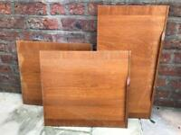 Free - Retro wood doors