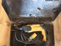 Dewalt SDS Hammer Drill is a 110v