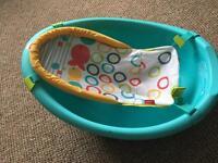 FisherPrice baby bath.