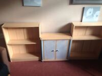 Free shelf units and cabinet needs to be gone asap