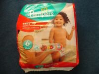 PAMPERS EASY UP NAPPY PANTS