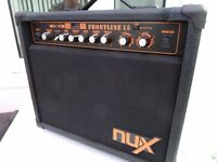 NUX Frontline, 15w Combo Amp with effects.