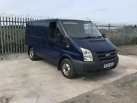 2010/10 FORD TRANSIT T260 SWB 12 MONTHS M.O.T TOW BAR GOOD MILEAGE HPI CLEAR NO VAT !!!