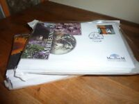 FDC LIMITED EDITION LUXURY MILLENIUM COLLECTION NEW UNNAMED [STAMPS GREAT BRITAIN