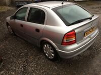 VAUXHALL ASTRA 1.4L FOR BREAKING