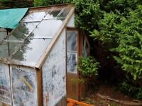 Wooden framed Greenhouse - FREE