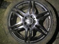 """Mercedes 18"""" AMG alloys"""
