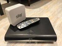 Sky+ HD Box with 2 remotes