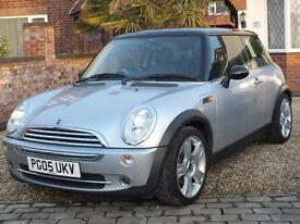 2005 Mini Cooper 1.6, Full Service History and Brand New Clutch Fitted--NOW SOLD