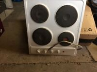 Electric cooker hob. Enamel. Small chip. Perfectly useable. FREE TO COLLECTOR