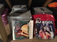 Collection of R and B and Ragga Records