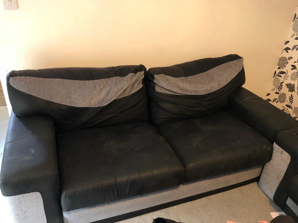 Two Sofas A Cuddle Chair
