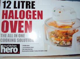 12lt halogen oven brand new still boxed