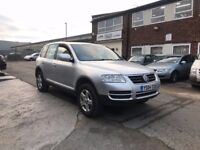 vw touareg 2.5 diesel, automatic, new MOT only one owner from new (not passat)
