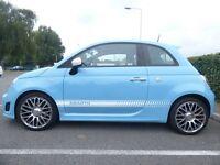 Fiat Abarth 500 1.4T 135bhp!!! Rare Legends Blue Colour!