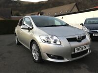 Toyota Auris 1.6 VVT-i SR 5dr*Only 2 Former Keepers*12 Months MOT Included*Just Serviced*