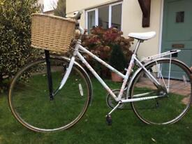 Lovely Raleigh lady's bicycle with newly fitted basket