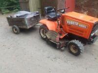 small tractor kubota
