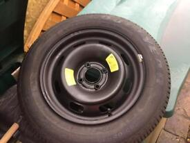 Peugeot 207 Spare Wheel & Tyre