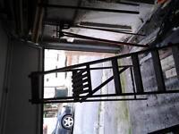 last wood step ladder