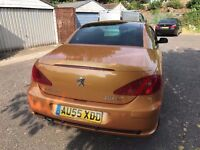2005 Peugeot 307 CC 2.0 HDi SE 2dr 1 Owner From New Diesel Convertible @07445775115