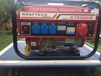 Kraftech German generator. KT 6500