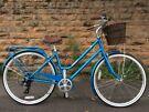 Soiled NEW Dawes Duchess Metallic Blue Ladies' Heritage Bike RRP £399