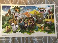 Pokemon GO 2nd Anniversary Poster (limited edition)