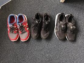 Nike uk 8, huarache uk8, puma disc uk 8 mens shoes