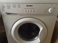 BUSH A 147 QW WASHING MACHINE WITH INSTRUCTION BOOKLET