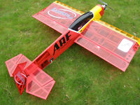 ARTF R/C (RC) Model Plane - Hanger 9 Harrier 3D .46 - with MAS (MDS) 10 engine. NOT A TOY