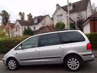 IMMACULATE! (2005) VOLKSWAGEN SHARAN 1.9 TDi SPORT AUTOMATIC MPV 7 SEATER LEATHER/ONE DR OWNER/FVWSH
