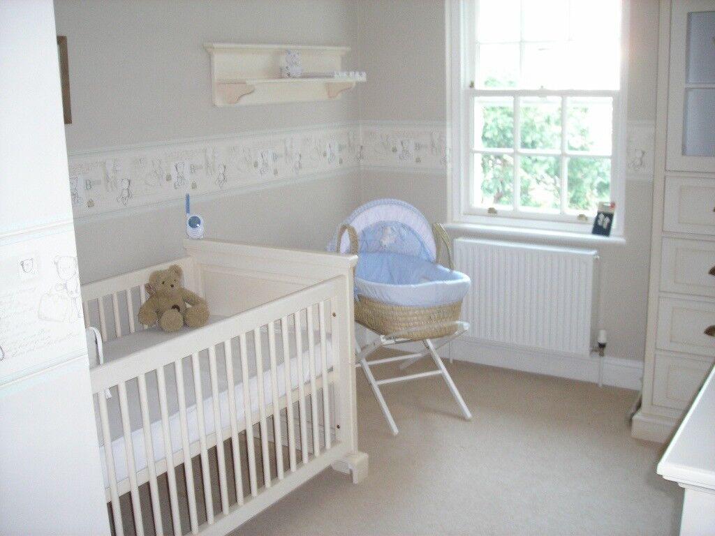 Kidsmill Luxury Designer Houston 4 Piece Nursery Furniture 1 Quality Mattress