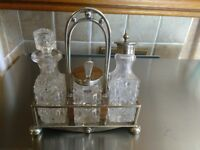 Old condiment set