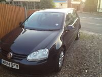 VW Golf 1.9 tdi Black, Great Condition & Superb MPG Performance. Must See.
