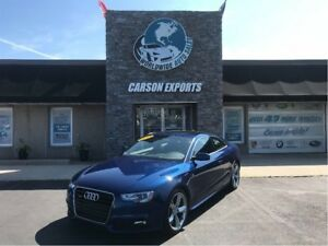 2013 Audi A5 Premium   S-LINE WITH LOW KMS AND RARE SCUBA BLUE