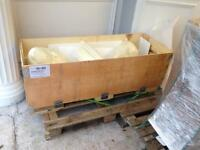 Large wooden crate - great for storage