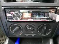 jvc car cd player with aux and usb