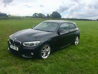 BMW 1 Series 2.0 118d AUTO M Sport Hatch Auto 3dr (LEATHER / SAT NAV / HARMAN/KARDON sound system)