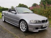 !! MSPORT!! 2004 BMW 320CI CONVERTIBLE 2.2 / MOT 10-5-2017 / FULL SERVICE HISTORY / IMMACUALATE