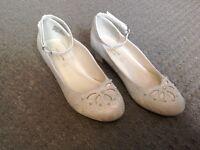 Girls Holy Communion/ bridesmaid shoes