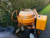 Old electric cement mixer for salw