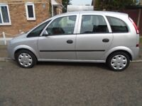 VAUXHALL MERIVA ,very nice condition, 12 months m.o.t, f.s.h £550..
